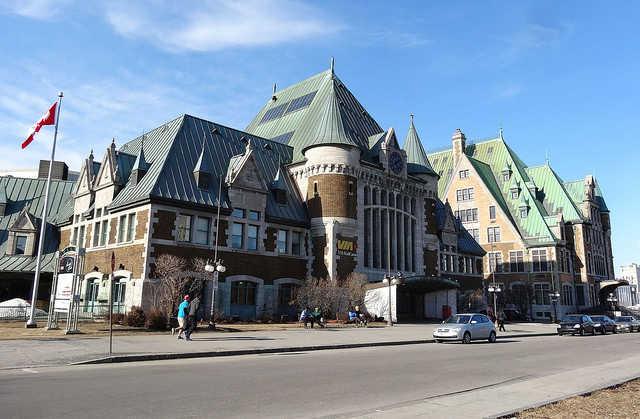 Железнодорожный вокзал - достопримечательности Квебека