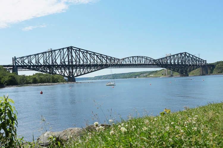 Квебекский мост - достопримечательности Квебека