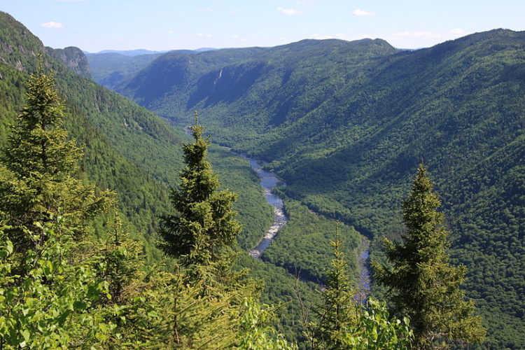 Национальный парк Жак-Картье - достопримечательности Квебека