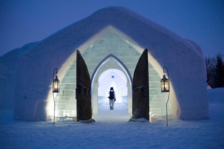 Ледяной отель - достопримечательности Квебека