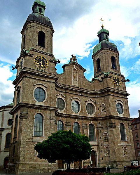 Собор Святого Иакова - достопримечательности Инсбрука