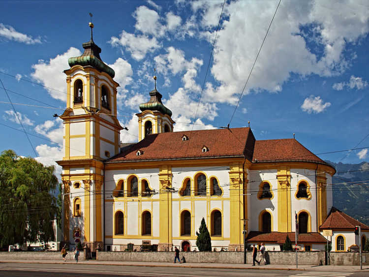 Базилика и монастырь Вильтен - достопримечательности Инсбрука