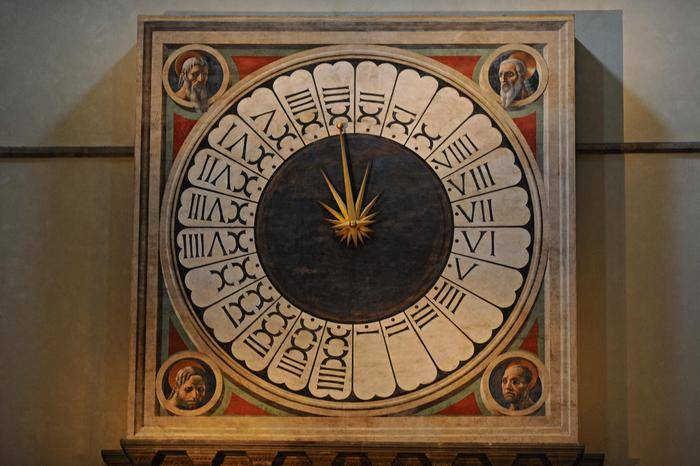 Часы собора Санта-Мария-дель-Фьоре