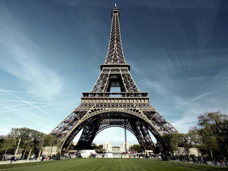 Фото Эйфелевой башни в Париже