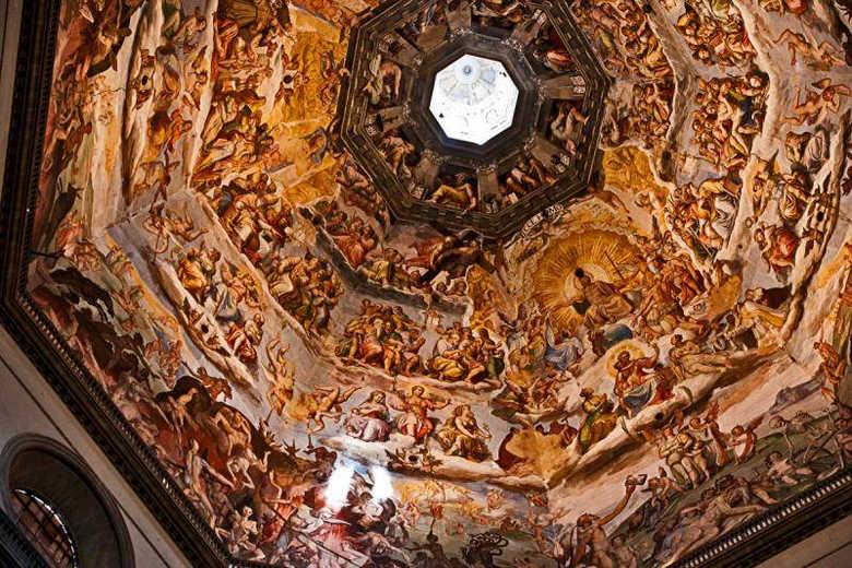 Купол собора Санта-Мария-дель-Фьоре. Внутренняя отделка