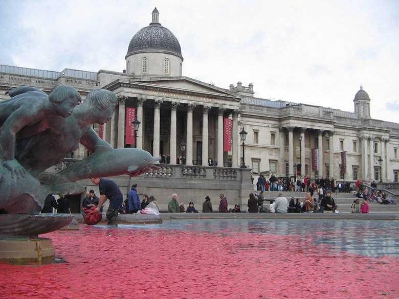 Национальная художественная галерея на Трафальгарской площади