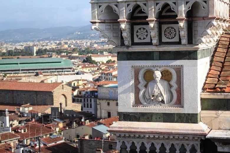 Обзорная площадка собора Санта-Мария-дель-Фьоре во Флоренции