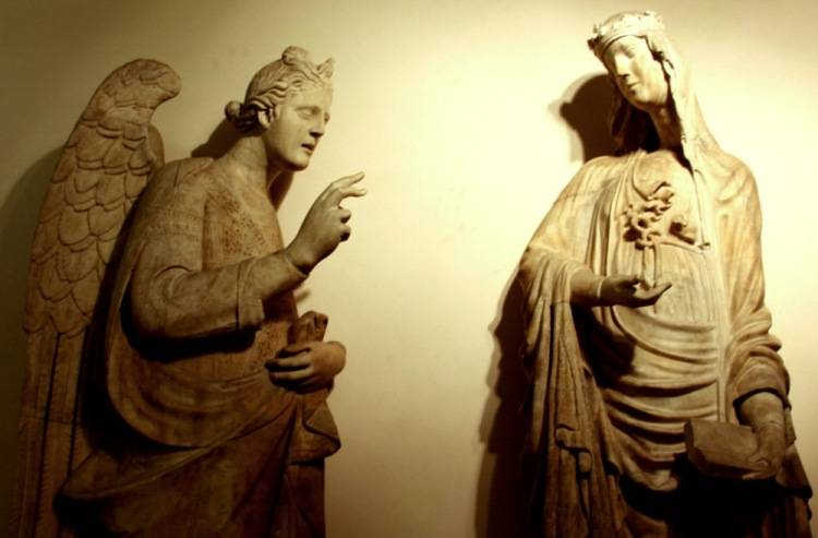 Скульптуры музея собора Санта-Мария-дель-Фьоре