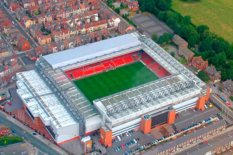 Стадион «Энфилд Роуд» в Великобритании