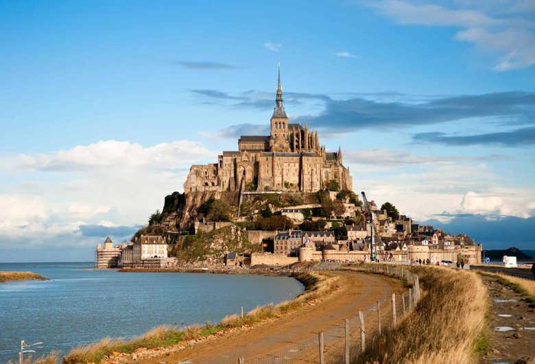 Фото Замок Мон-Сен-Мишель Франция