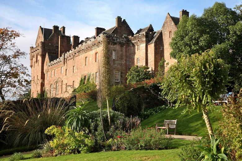Фото замки Шотландии замок Бродик
