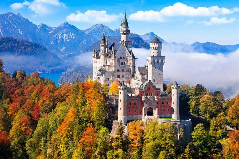 замок нойшванштайн бавария Германия фото 1
