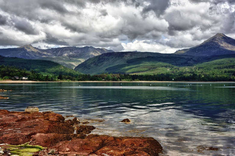 Фото остров Арран Шотландия