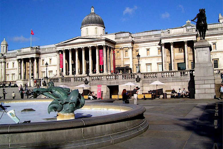 Трафальгарская площадь в Лондоне