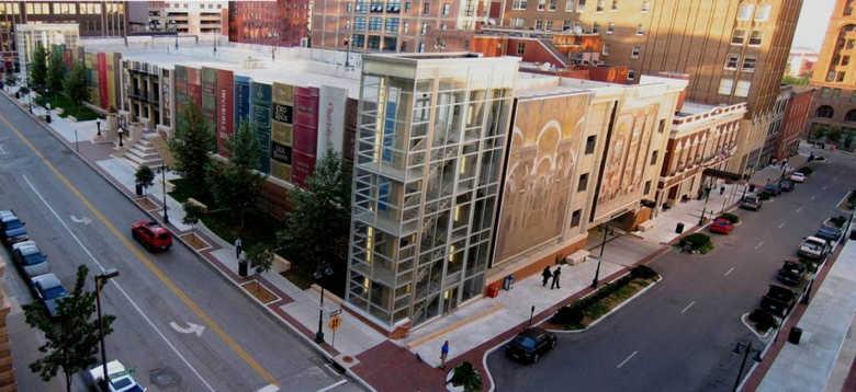библиотека Канзас Сити США фото