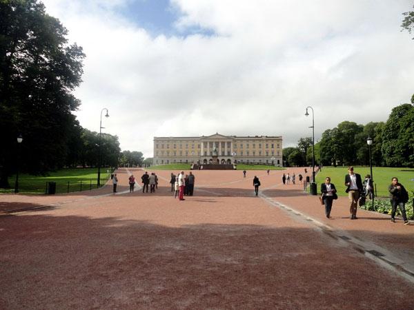 Королевский дворец г. Осло