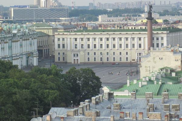Вид с Исаакиевского собора