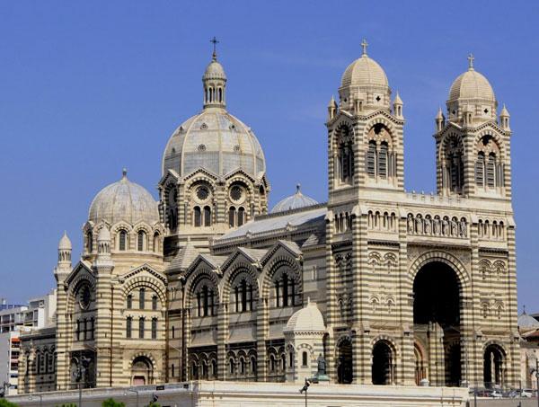 Кафедральный собор Марселя