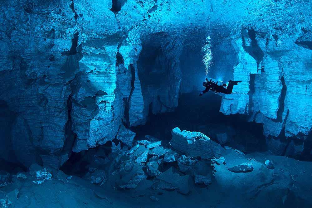 Подводная спелеология