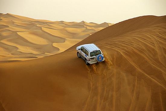 Джип сафари в ОАЭ